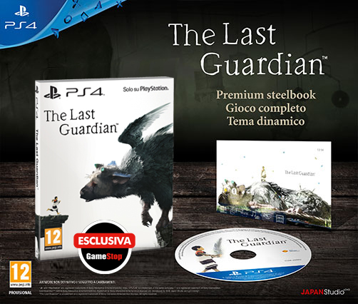 The Last Guardian Steelbook Edition
