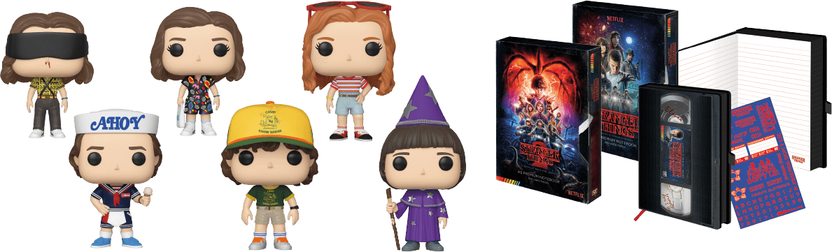 Collezionabili Stranger Things